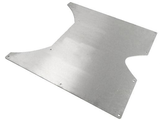 """JK Flat Belly-Up Skid, 3/8"""" 7075 ALUM, JK 4 Door"""