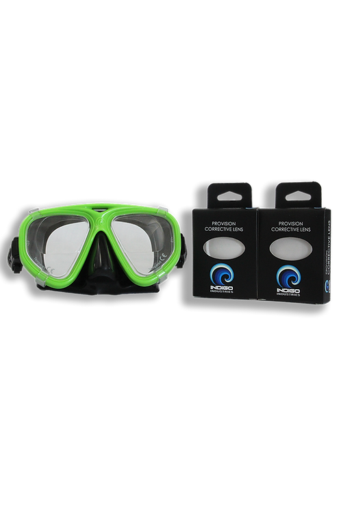 Provision Scuba Mask with corrective lens