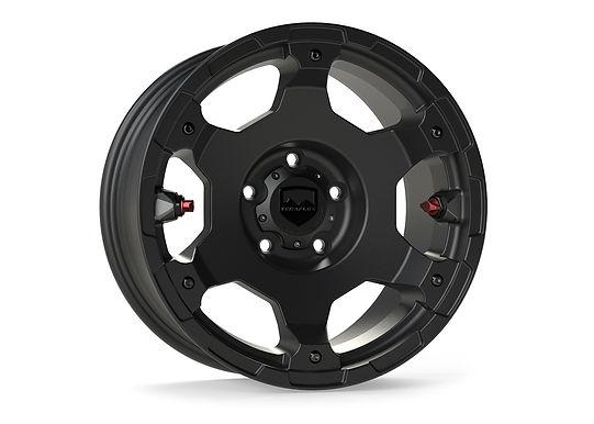 "TeraFlex Nomad Off-Road Wheel – Deluxe – 5x5"" – Metallic Black – Each"