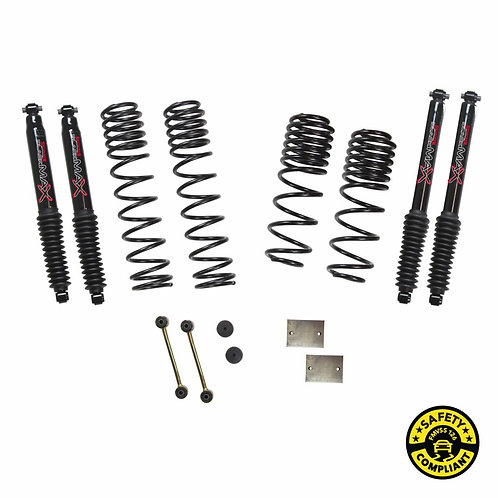 SJ - Wrangler JL 4-Door 4WD 1-1.5 in. Dual Rate-Long Travel Lift Kit System with