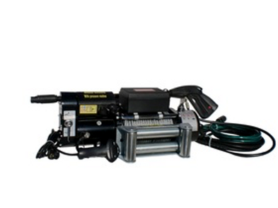 ENGO 10,000 LBS. 12 VOLT   ELECTRIC WINCH WITH PRESSURE WASHER