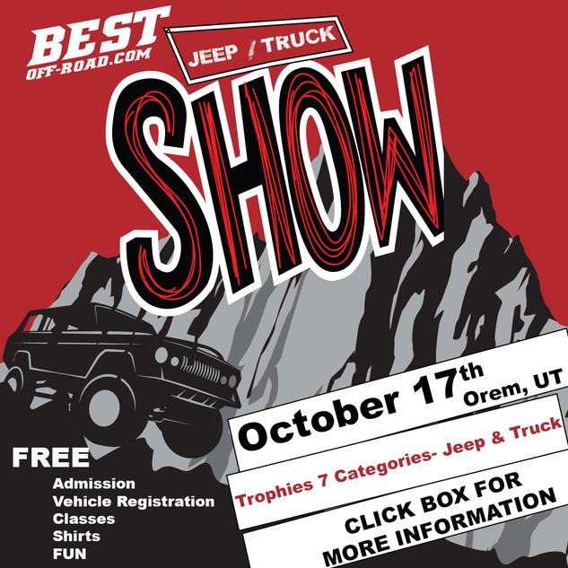 Best Jeep/Truck Flyer