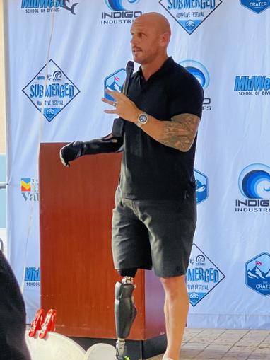 Paul de Gelder - Host of Discovery Channel's Shark week