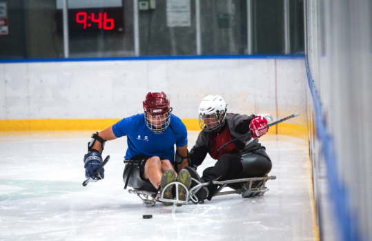 ADAPTIVE ICE HOCKEY