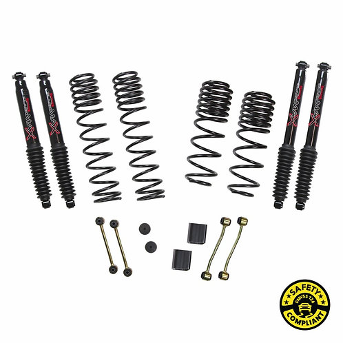 SJ - Wrangler JL 4-Door Rubicon 4WD 2-2.5 in. Dual Rate-Long Travel Lift Kit Sys
