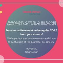 [COMPETITION RESULT] Finalis Terakhir TOP 3, KAMU LOH!