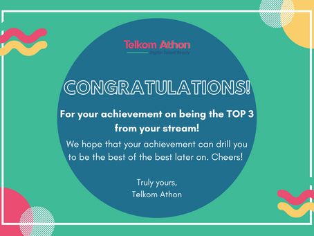 [COMPETITION RESULT-Cyber Security] Yeayyyy! Kamu masuk TOP 3!!!!!!