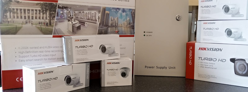 HikVision Products Installed