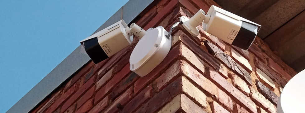 Installed Outer Cameras