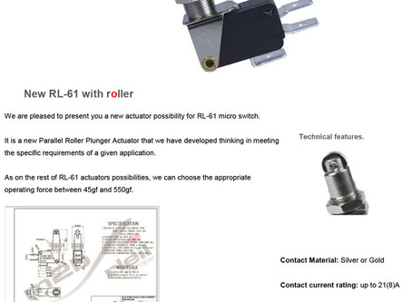 New RL-61 with roller