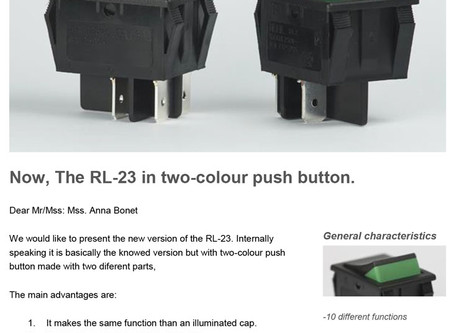 Now, The RL-23 in two-colour push button.