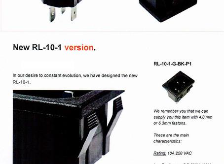 New RL10-1 version