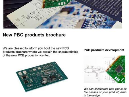 New PBC products brochure