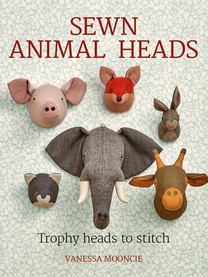 Sewn Animal Heads: Trophy Heads to Stitch  No animals were harmed in the making of these magnificent trophies! With these delightful fabric animal head projects you can have all the impact of these magnificent beasts but without any fur flying. The 15 stunning projects include a ravishing rabbit, a magnificent moose, a pretty pig and an elegant elephant. Each project includes clear step-by-step instructions and stunning photography. The book includes an extensive techniques section telling you everything you need to know to embark on these wonderful projects.  Paperback:192 pages Publisher:GMC Publications (7 Nov 2017) ISBN-10:1784943649 ISBN-13:9781784943646
