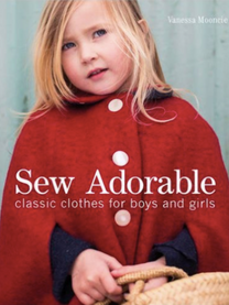Sew Adorable  A baby or toddler is the perfect excuse to get creative and make unique and charming clothes instead of buying mass-produced items covered in logos. In this comprehensive guide,children's wear designer Vanessa Mooncie shows you how to sew beautiful yet practical clothes that you'll love tomake and children will love to wear. The clothes for boys and girls range from everyday outfits, fun clothes for dressing up and accessories to complete the look. Don't worry if you are new to sewing as all the basic know-how is presented in a clearly explained step-by-step format. 23 clearly presented, easy-to-follow stylish projects for babies and toddlers, suitable for novice tointermediate sewers. Paper patterns can be easily adapted to suit different ages and the illustrated techniques sectionincludes finishing touches to make each outfit truly individual.  Hardcover:176 pages Publisher:GMC (28 Aug 2014) ISBN-10:1861089317 ISBN-13:9781861089311