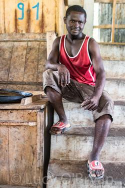 Haiti-Cacao Laborer