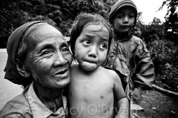 Lao Grandma, Kasi, Laos