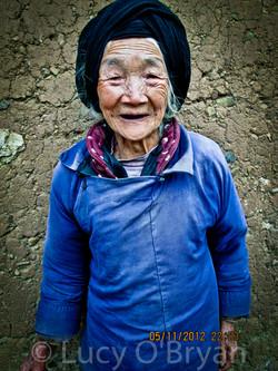 Grandma, Kuming, China