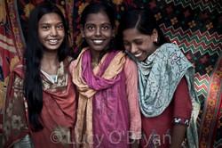Young Village Girls, Bangladesh