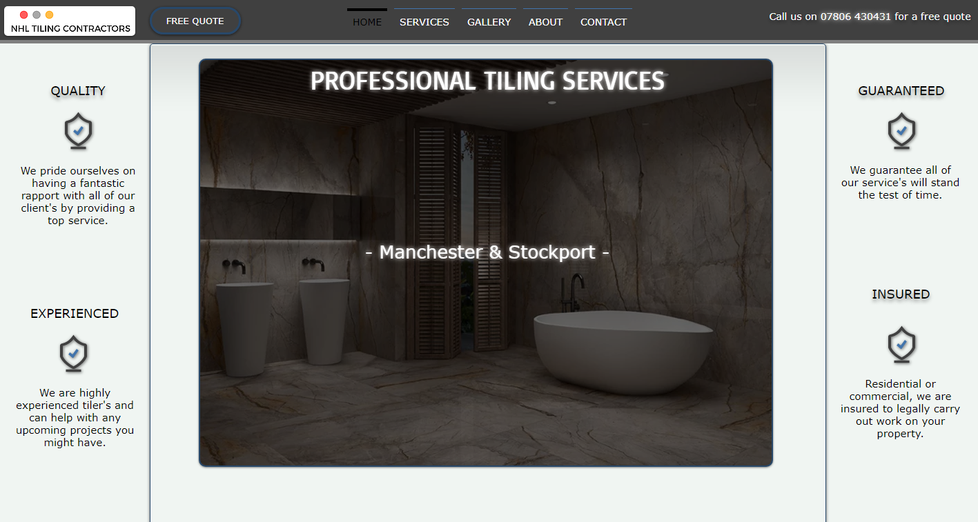 website design manchester prices
