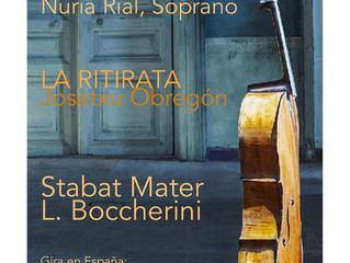 "Nueva Gira 2018. La Ritirata. ""Stabat Mater"" Boccherini"