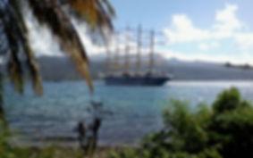 Segelschiff Dominica