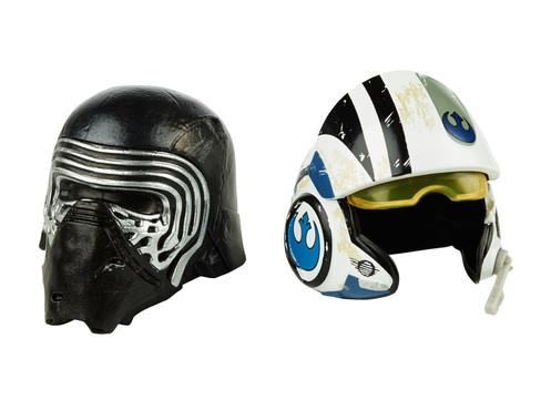 Kylo Ren + Poe Dameron - Black Series Die-Cast Helmets 2-Packs