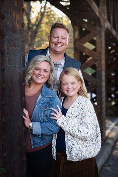 Family of three in Columbus, Ohio