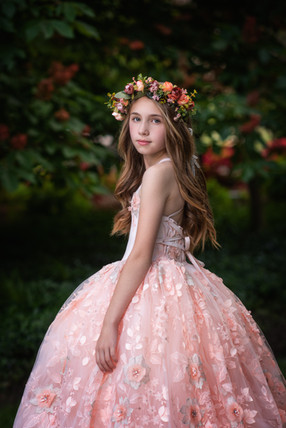 Couture Child Pink Gown