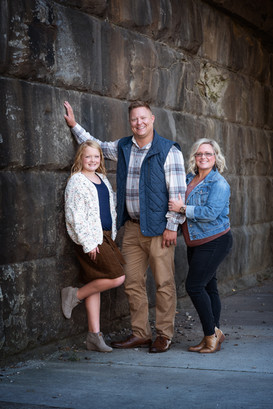 Family Portrait in Columbus, Ohio