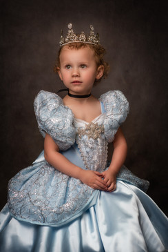 Cinderella Inspired Child Fine Art