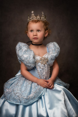 Cinderella Inspired Child Fine Art