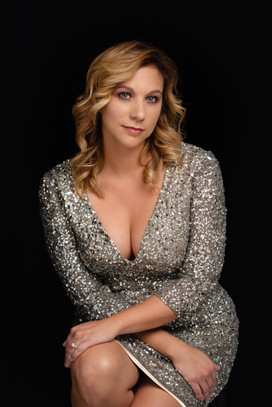 Womens Glam Sparkly gown