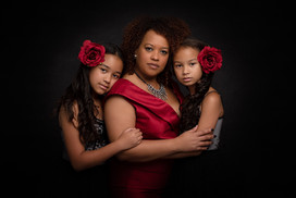 Indoor Styled family portrait