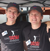 LTJF Board Members, Mark Johnson and Angus Kennedy