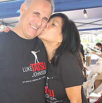 LTJF Co-Founders, Todd Johnson and Rena Johnson
