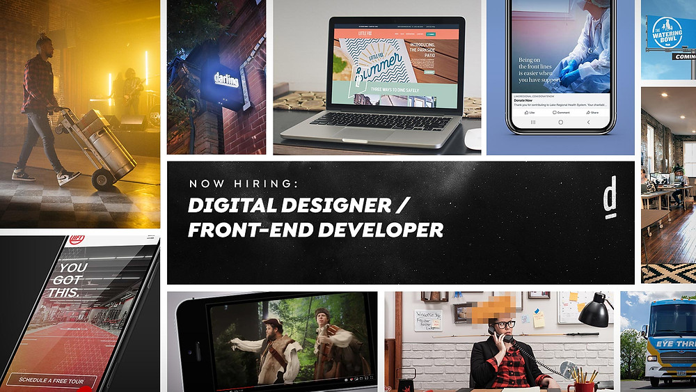 Now Hiring: Digital Designer/Front-End Developer
