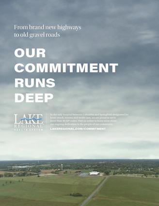 "Lake Regional Health System // Print / ""Gravel Roads"""