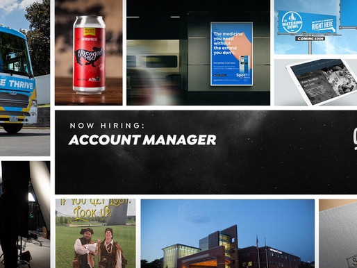 AN ACCOUNT MANAGER IN CREATIVE'S CLOTHING