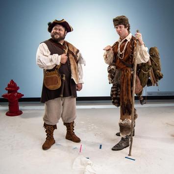 Lewis & Clark on set
