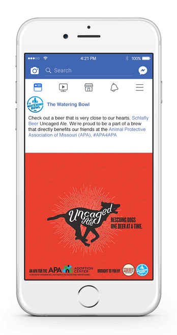 Uncaged Ale Facebook 1-UP RESCUING DOGS