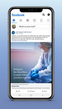 Lake Regional Health System COVID-19 Response Social