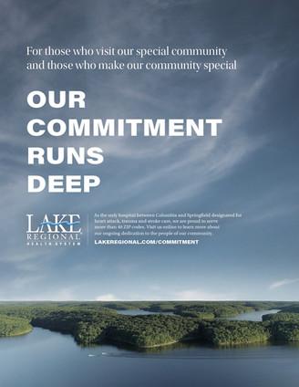 "Lake Regional Health System // Print / ""Special Community"""