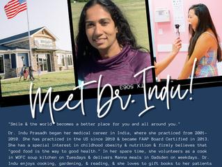 Meet Dr. Indu!