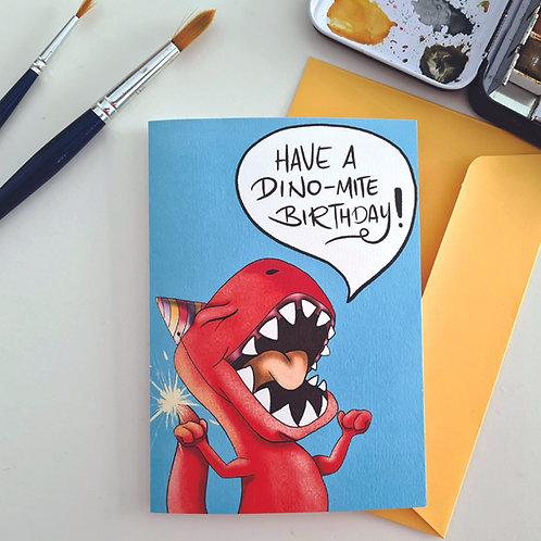 Have a Dino-Mite Birthday!