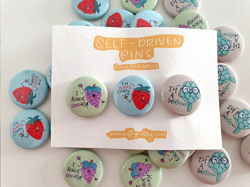 Self-Driven Badges - Pack 3