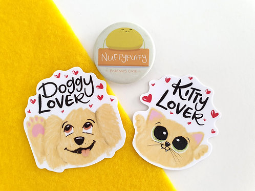 Doggy or Kitty Lover