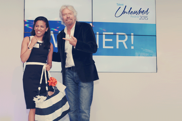 2015 Branson helps launch Unleashed