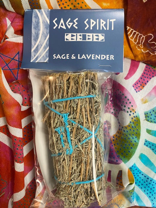 Desert Sage + Lavender Smudge