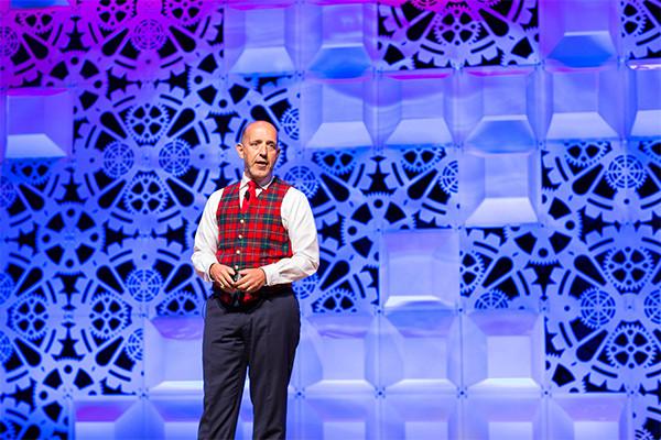 Jeff Barnes Speaking at Disney Land